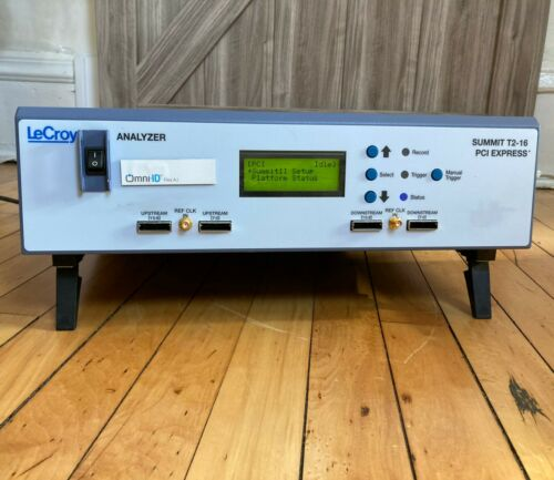 Teledyne LeCroy Summit T2-16 PCI Express Multi-Lane Protocol Analyzer GUARANTEED