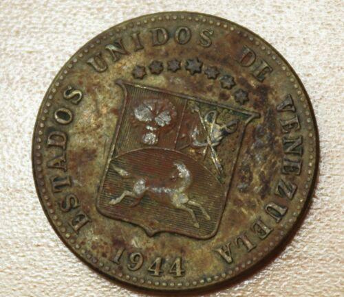 1944 Venezuela 12 1/2 Centimos
