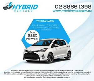 Hire Car - Hybrid Rental Car - UberX, Ola, Taxify Rentals