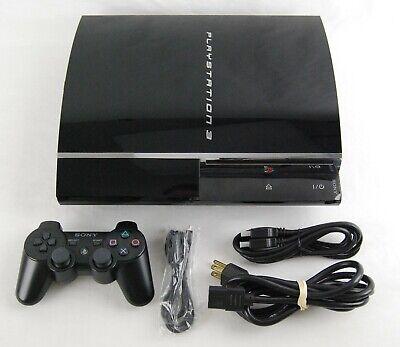Sony PlayStation 3 60GB CECHA01 Backwards Compatible (4.41)