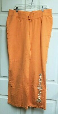 Harley-Davidson Women's Orange Lounge Pants Sweatpants Size L 96279-09VW Harley Davidson Lounge Pants