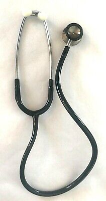 Littman Stethoscope 3m Made Black In Usa Vintage Working