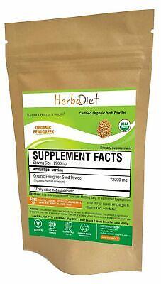 Organic Fenugreek Seed Methi Powder Trigonella Foenum-Graecu