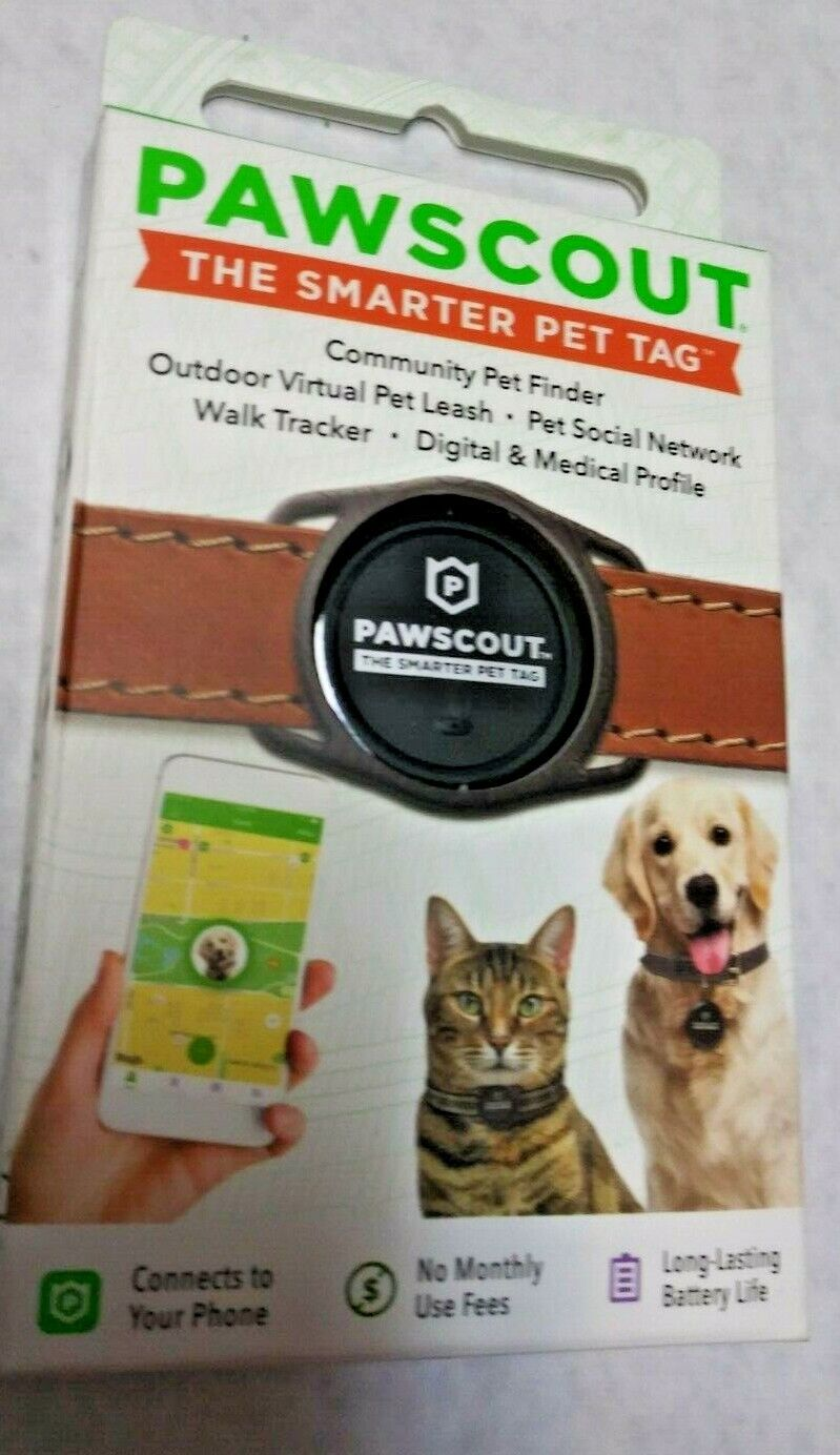 NEW PAWSCOUT COMMUNITY PET FINDER GPS/SMART PET TRACKER NIB - $3.99