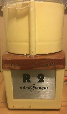 Robot Coupe R2 120v Food Processor Heavy Duty
