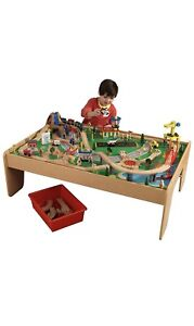 KidKraft 17850 Waterfall Mountain Train Set and Table