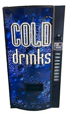 Dixie Narco 501e Soda Beverage Vending Machine Cans Bottles Mdb Free Shipping