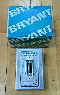 Bryant 30100 Enclosure For Ac Manual Motor Starting Switch Nema 1r Enclosure