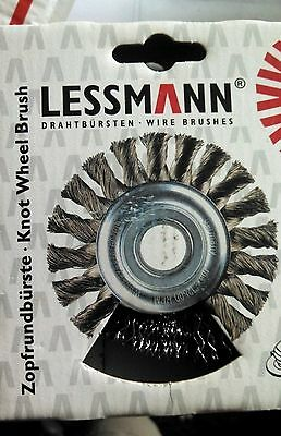 German Auto Body - AUTO BODY WELDERS QTY 1  ABRASIVES LESSMAN 322.171.US CRIMPED WHEEL BRUSH GERMAN