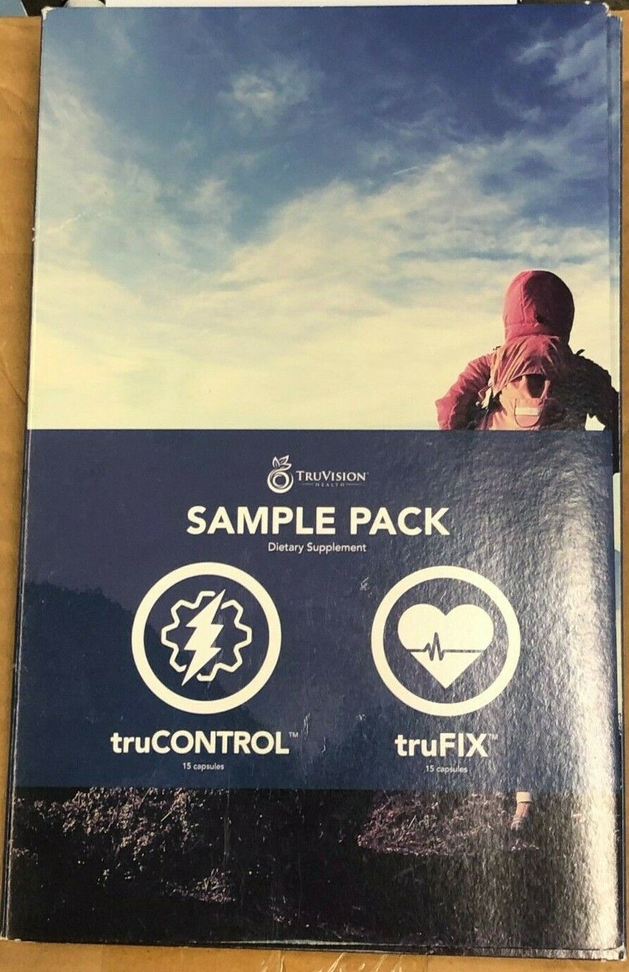 """TruVision Health Weightloss"" 1 WEEK Sample Pack truFIX-truCONTROL"