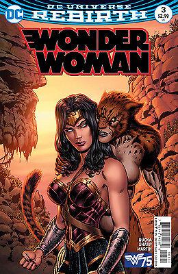 WONDER WOMAN #3, New, First print, DC REBIRTH (2016)