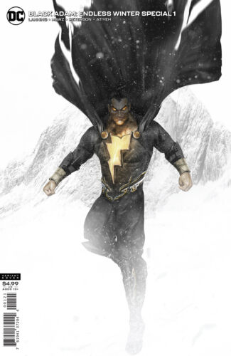 BLACK ADAM ENDLESS WINTER SPECIAL #1 BOSSLOGIC VARIANT NM SHAZAM BATMAN THE ROCK