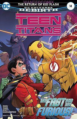 TEEN TITANS #14 RETURN OF KID FLASH ROBIN NOV 2017 DC COMIC BOOK NEW 1