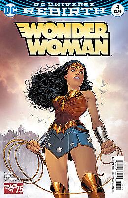 WONDER WOMAN #4, New, First print, DC REBIRTH (2016)