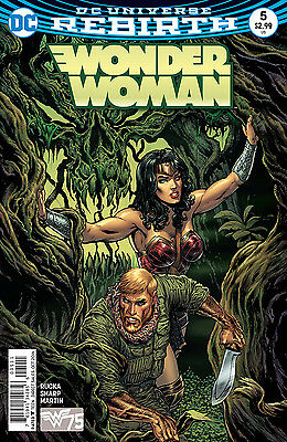 WONDER WOMAN #5, New, First print, DC REBIRTH (2016)
