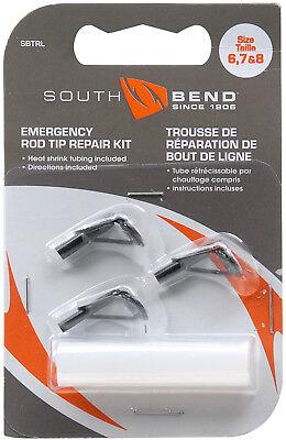- Fishing Rod Tips Rod Repair Kit 3 Tip Sizes & Quick Set Glue Easy Pole Fix SBTRG
