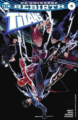 TITANS #15 VARIANT COVER DOUBLE AGENT NIGHTWING NEW 1 TEEN