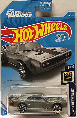 Hot Wheels 2018 The Fate of the Furious HW Screen Time Series ICE CHARGER #79