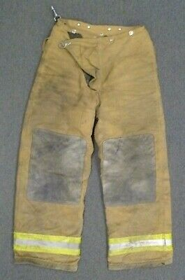 30x30 Globe Tan Firefighter Pants Turnout Bunker Fire Gear P064