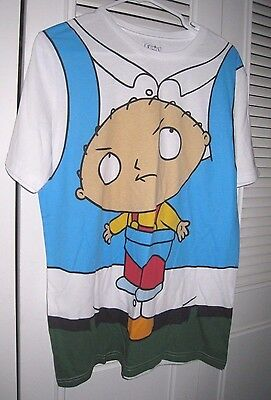 FAMILY GUY Hanging STEWIE CARRIER COSTUME  Men's Tee Shirt  XLarge