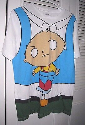 FAMILY GUY Hanging STEWIE CARRIER COSTUME  Men's Tee Shirt Large