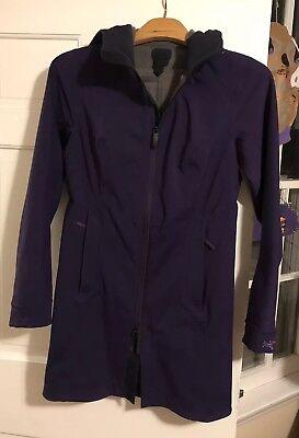 Rare Arcteryx Jacket Womens xs Deep Purple MSRP $425 ()