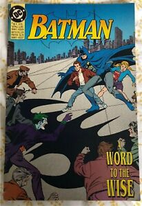 """Batman DC Comic. """"Word To The Wise"""". 1992"""