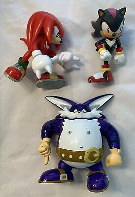 "SONIC Hedgehog Video Game Action Figure 3"" Jazwares HTF rare lot sega Toy Island for sale  Shipping to Canada"