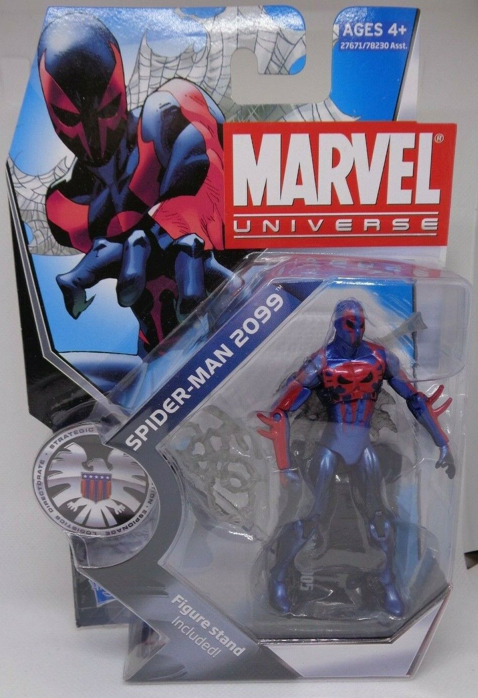 Marvel Legends Universe > Spider-Man 2099 3.75 in Action Fig