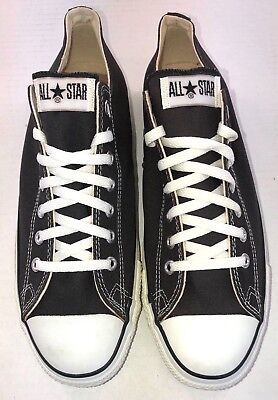 CONVERSE Chuck Taylor All Star Oxford Sneaker 19166  NWD  Black  MADE IN USA     ()