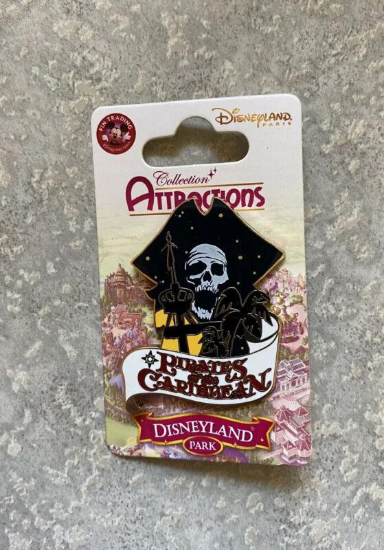 DLRP DLP Disney Land Paris Pirates Of The Caribbean Pin Attractions Series