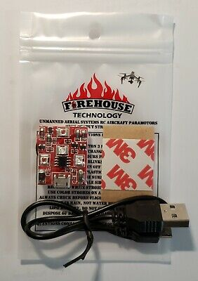 FIREHOUSE ARC TRI COLOR DRONE ANTI COLLISION STROBE LIGHT DJI MINI AUTEL PARROT