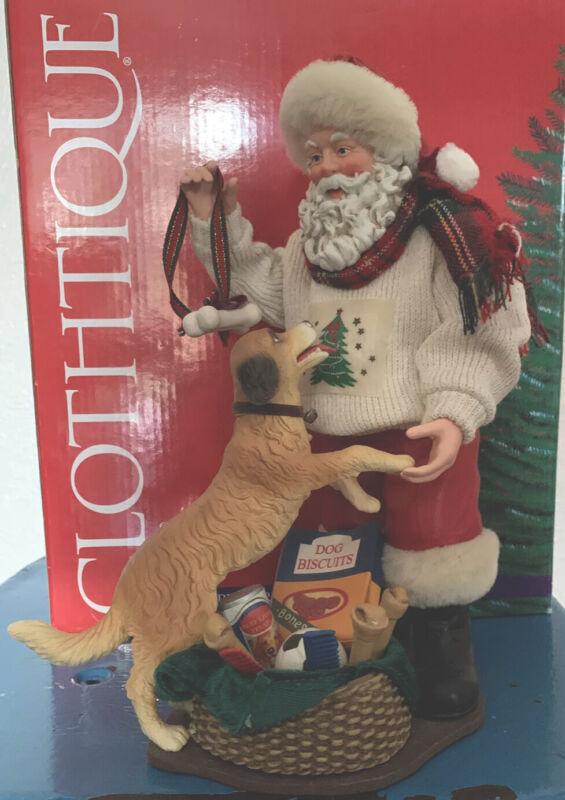 Christmas Clothtique Possible Dreams 2002 Santa's Best Friend #713731