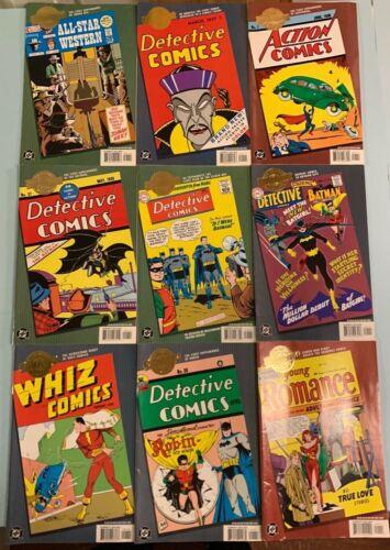 9 DC Comics MILLENNIUM EDITION SET