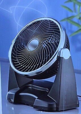 Kompakt Zirkulator Ventilator Raumklima Standventilator Luftzirkulator Rotierend
