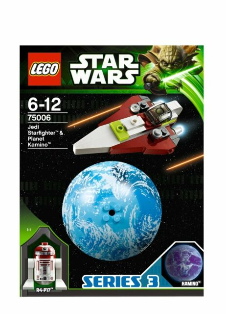 LEGO Star Wars 75006 Jedi Starfighter R4-P17 Droid Kamino Planet Kugel Series 3