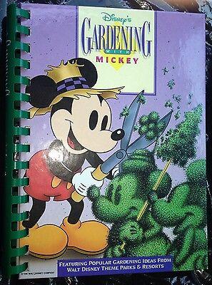 Disney's Gardening with Mickey, Hardcover EUC Excellent THEME PARK IDEAS !! Nice - Theme Ideas