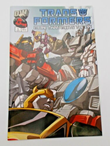 Transformers More than Meets the Eye #1 Official Guidebook2003 Dreamwave 9.4 NM