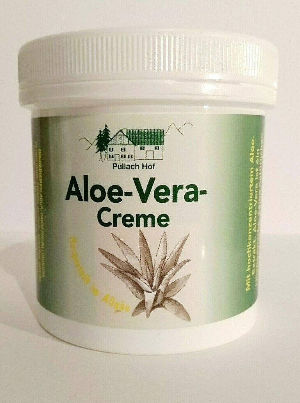 Aloe Vera Gesichts- und Körpercreme mit Rosmarin Öl, Pullach Hof, 250ml