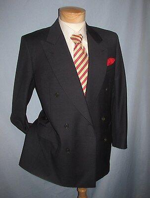 Superb CANALI LORO PIANA jacket blazer double breasted 6btn 100% wool Italy 38 R