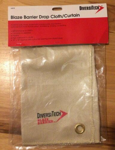 NEW Heat Resistant Cloth 18X18 DIVERSITECH 16510 Plumbers Blaze Barrier Plumbing