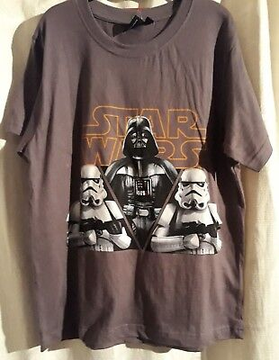 Boys Star Wars T-shirt, Darth Vader & Storm trooper print, 6yr up to 12yr