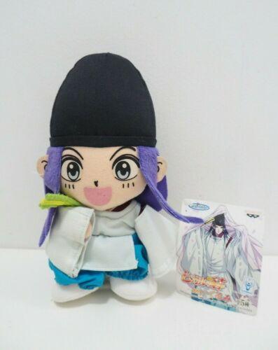 "Hikaru no go Fujiwara no Sai Banpresto 2002 Plush 8"" TAG Toy Doll Japan"