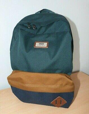 Adult Unisex Green/Blue VANS Backpack