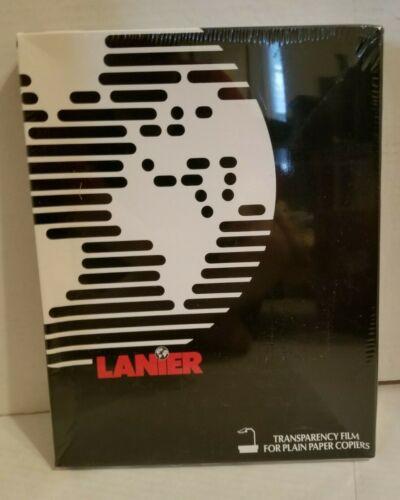 """Lanier Transparency Film 100 Sheets 8.5""""x 11"""" Plain Paper Copiers / Face Shields"""
