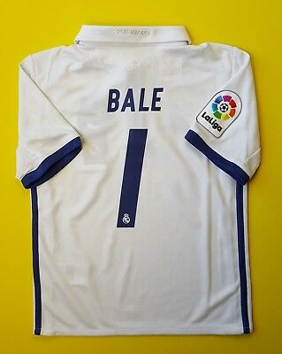 1ee5712b0 5+ 5 Bale Real Madrid kids jersey 2016 2017 shirt 7-8 years AI5189 soccer  Adidas