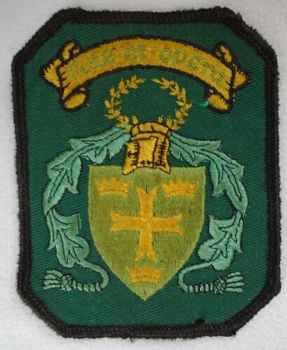 Fide Et Opera Clan Crest Patch Scotland 3.75""