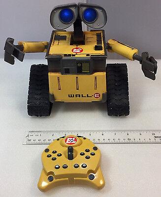 Disney Pixar Thinkway Toys Remote Control Wall-E U-Command Walking,Talking Robot