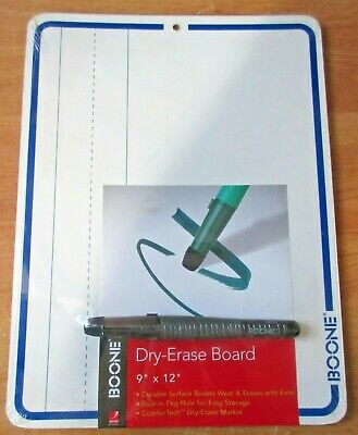 Dry Erase Boards Boone 9 X 12 With Marker  New