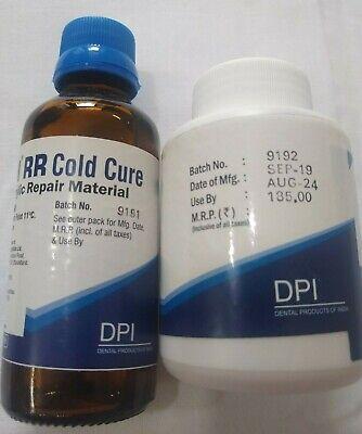 Dpi Self Cure Rapid Repair Powder And Liquid For Acrylic Denture